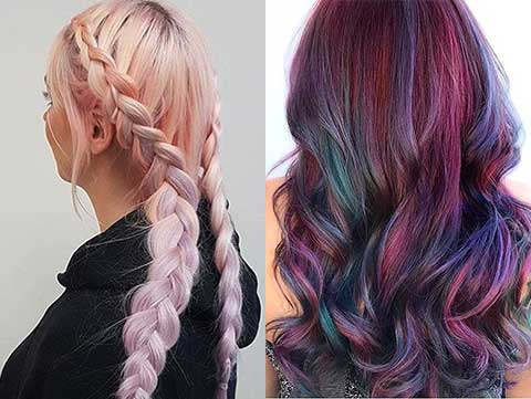 What Is Geode Haircolor Amp How To Get It Vivid Hair Trend