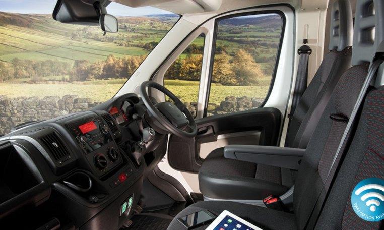 Red Kite Peugeot interior