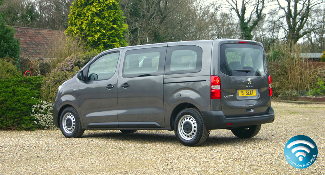 Peugeot Expert Combi 9 seat Minibus 2017 Ex Red Kite demonstrator model