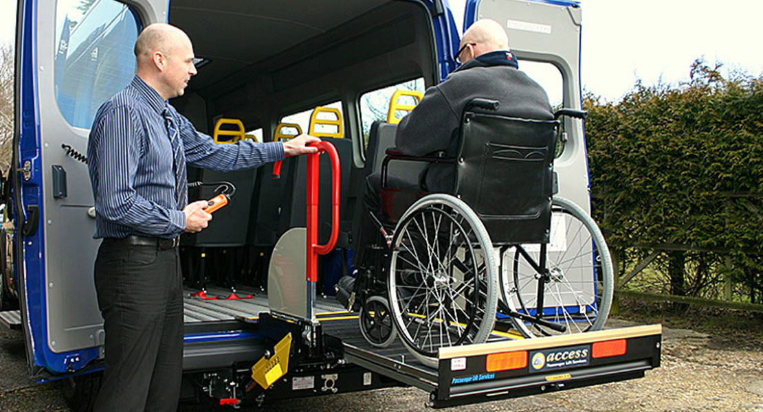Red Kite Accessible Lift Demonstration
