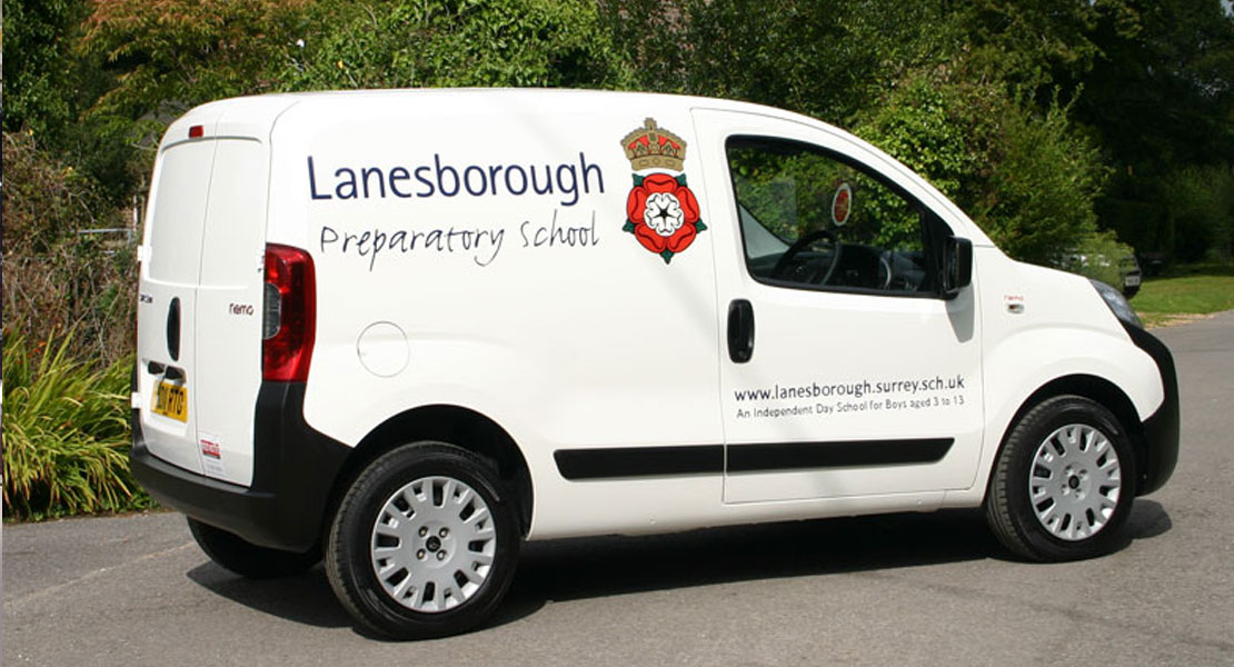 Red Kite Lanesborough Preparatory School Vehicle