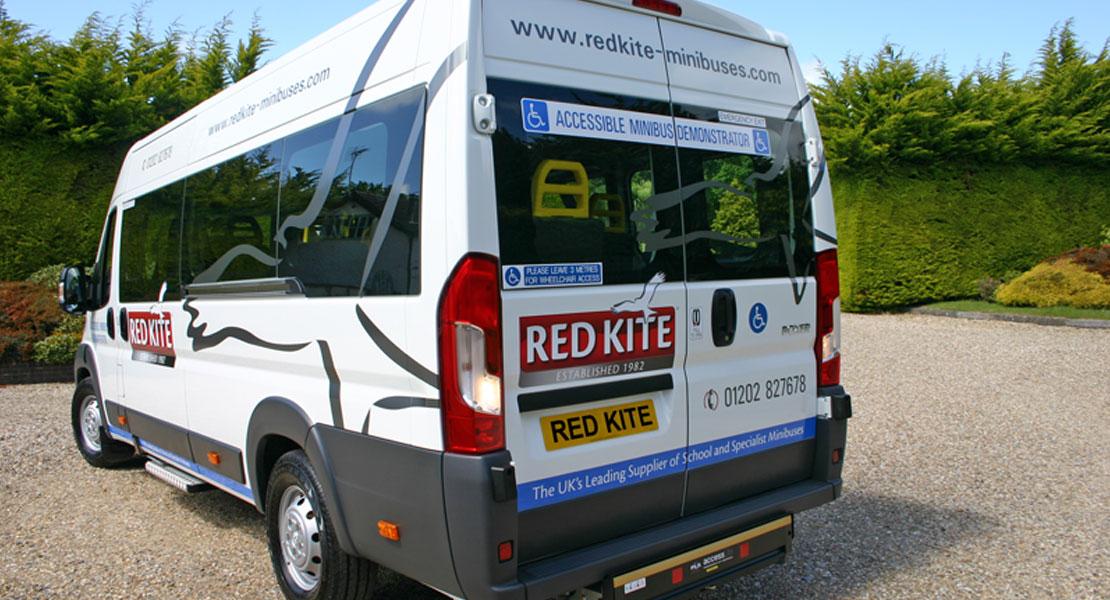 redkite peugeot accessible minibus