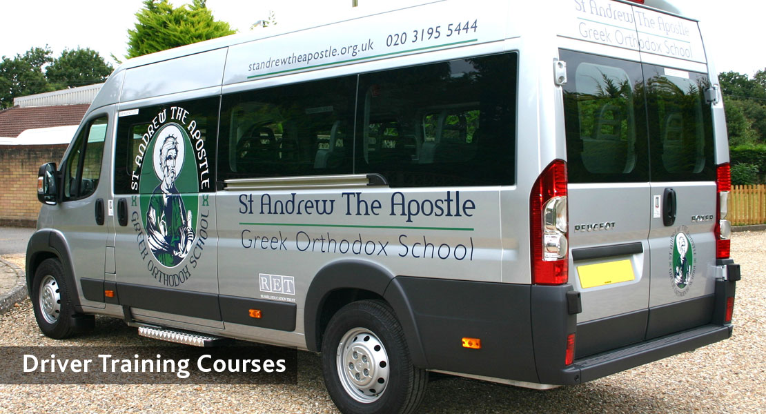 redkite school minibuses Driver Training Courses
