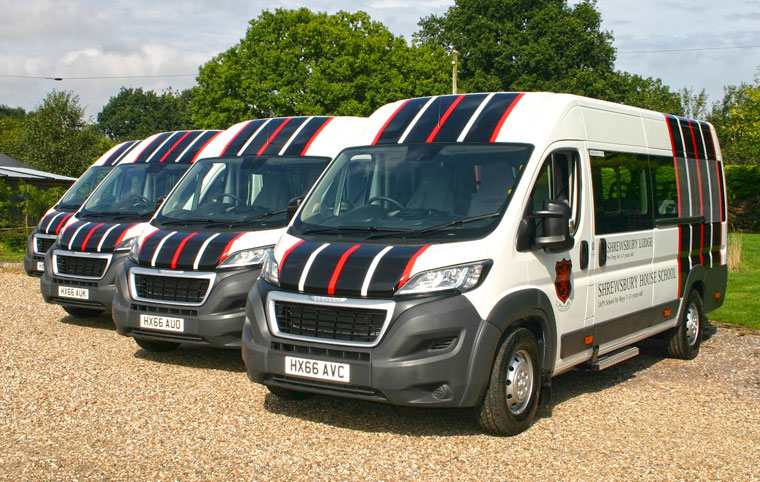 Red kite Vehicle Consultants Livery