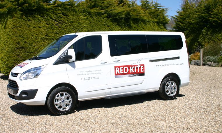 Ford Tourneo 9 Seat Minibus Red kite Demonstrator August 2017 www.redkite-minibuses.com tel 01202 827678 free demonstrations throughout the UK Save thousands of pounds