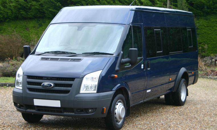17 Seater Transit redkite-minibuses.com tel 01202 827678