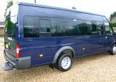 Transit !7 Seat Minibus Blazer Blue 12 Months Warranty Red Kite