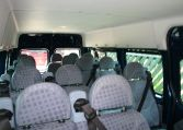 17 Seat Minibus Blazer Blue