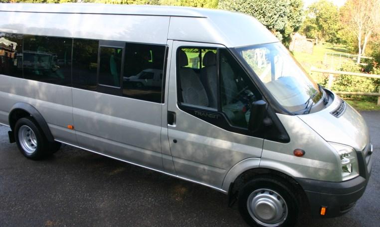 minibus sale silver 17 seat bus