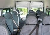 Low Mileage Transit minibus 17 seater