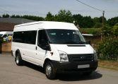 Fully refurbished Transit minibus 17 seats