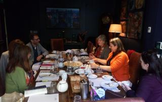 York Business BookClub meeting