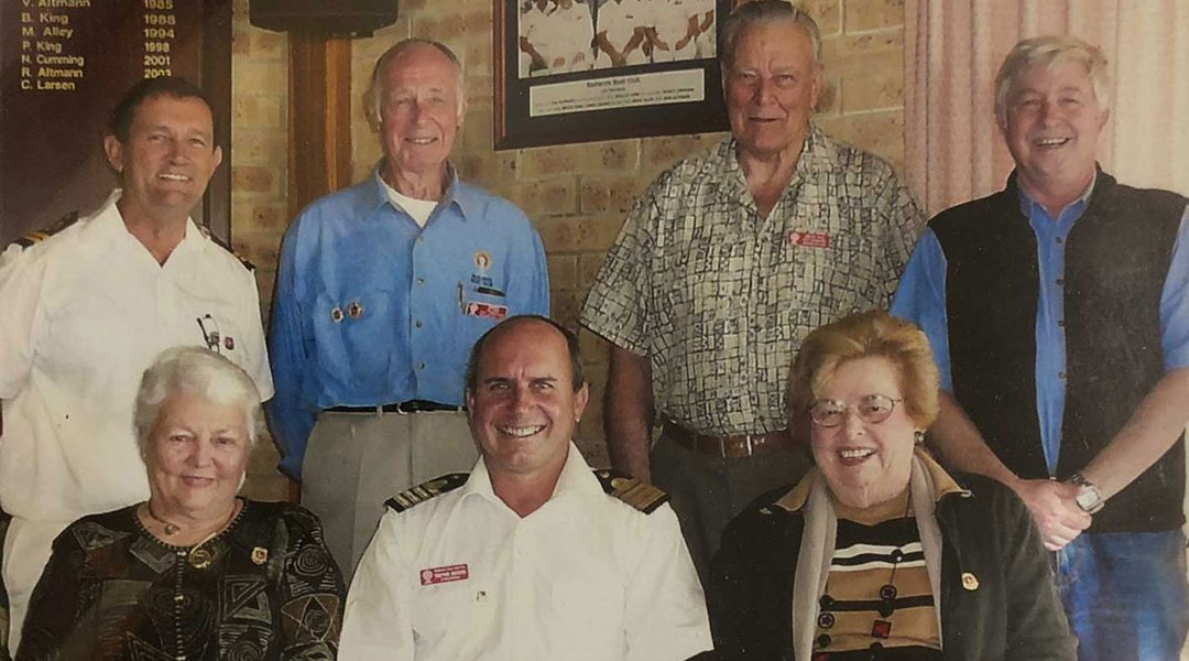 Distinguished Life Members breaking the 90's barrier.