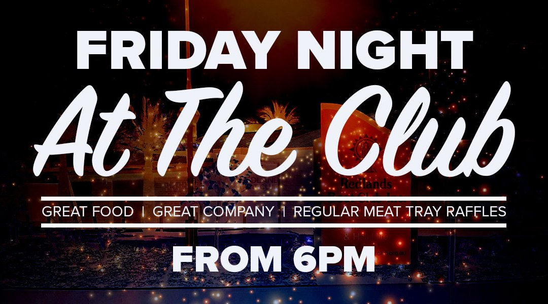 RBC Friday Club Night.