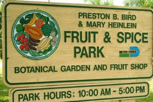 Redland Fruit and Spice Park Botanical Garden and Fruit Shop - Preston B. Bird and Mary Heinlein