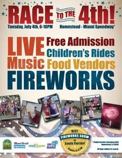 "Homestead Hosts Annual ""Race to the 4th!"" Independence Day Bash"