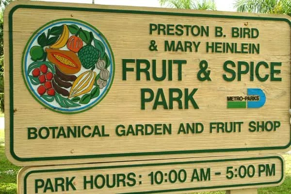 Preston B. Bird/Mary Heinlein Fruit and Spice Park