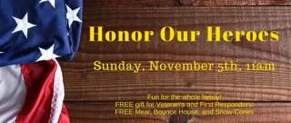 Veterans Day at Calvary Church
