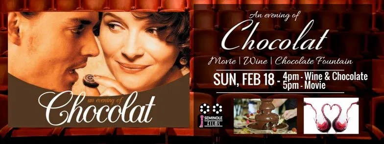 An Evening of Chocolat at Seminole Theatre