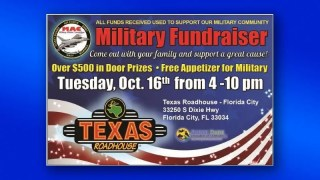 Military Affairs Committee fundraisr at Texas Roadhouse