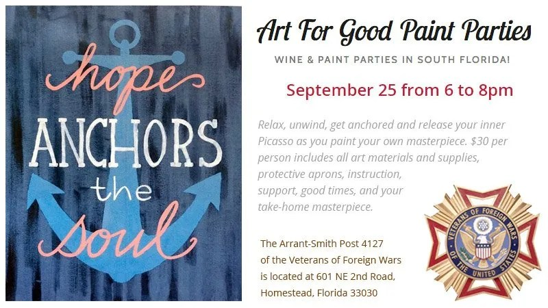 Anchor - Art For Good Paint Party