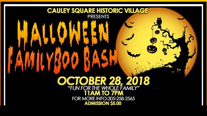 Halloween Family BooBash at Cauley Square