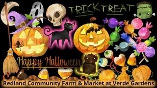 HALLOWEEN - Trick Or Treat at Redland Market