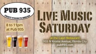 Live Music Saturdays at Pub 935