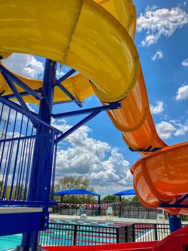 Slide at South Dade Park Aquatic Center