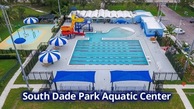 South Dade Park Aquatic Center - Helen Sands Pool