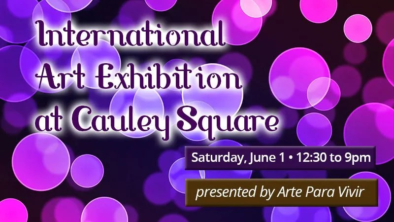 International Art Exhibition at Cauley Square