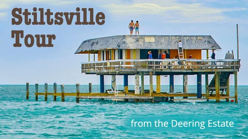Stiltsville Tour from Deering Estate