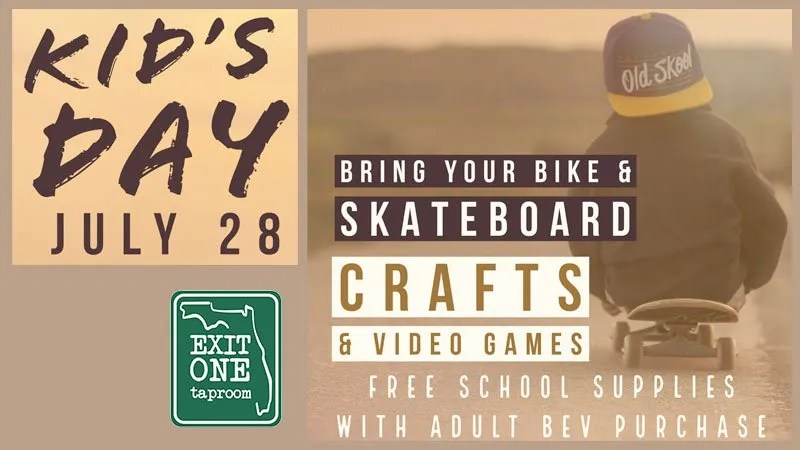 Kids Day at Exit One Taproom