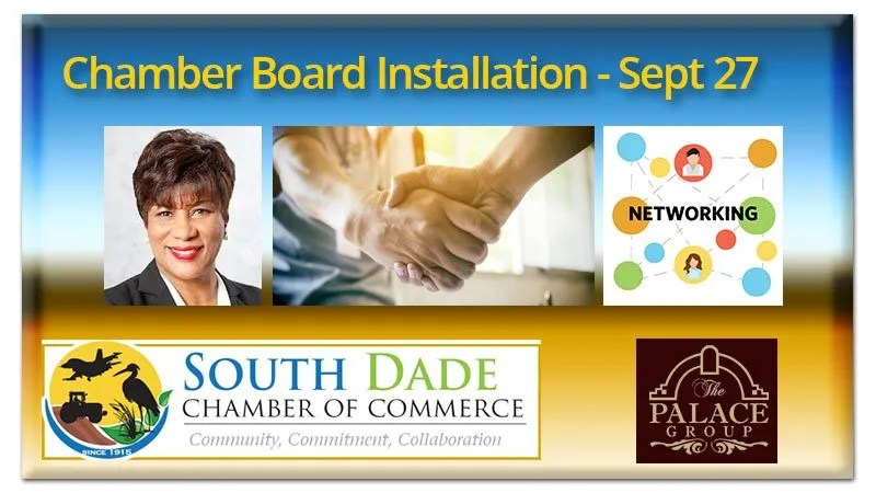 South Dade Chamber Board Installation
