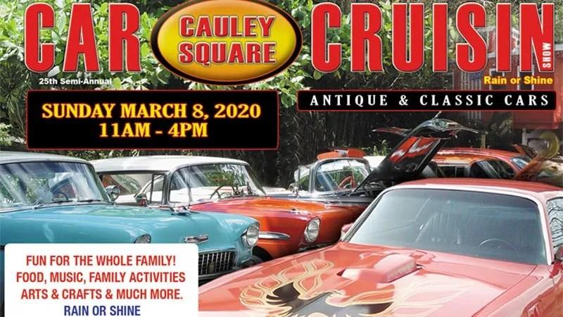 Annual Antique & Classic Car Show at Cauley Square