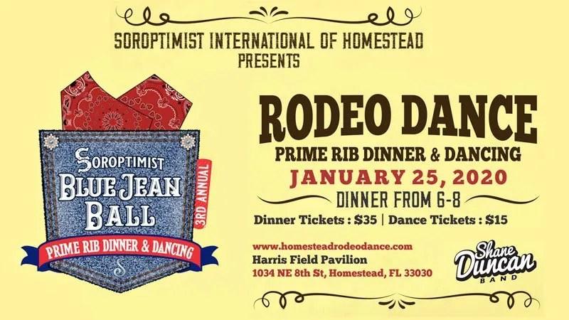 Blue Jean Ball- Homestead Rodeo Dance