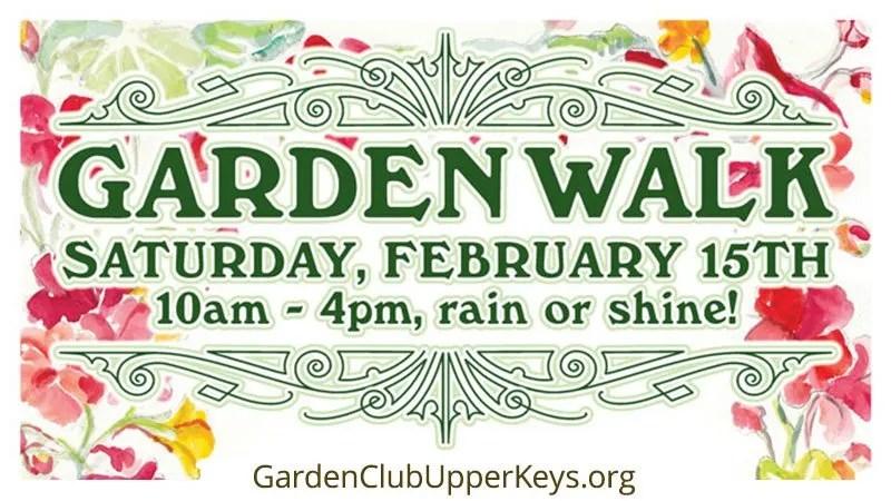 Garden Walk - Garden Club Of The Upper Keys
