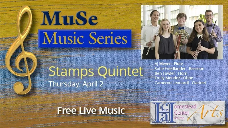 HCA Music Series - Stamps Woodwind Quintet