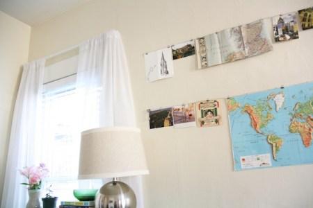 DIY Hanging Collage | redleafstyle.com
