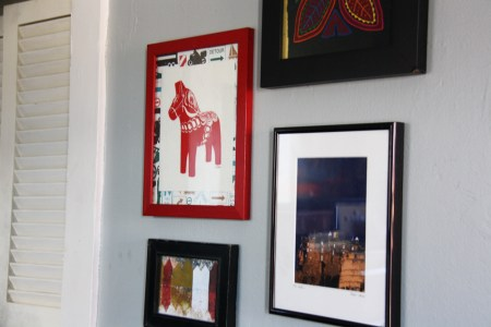 Travel Art Wall | redleafstyle.com