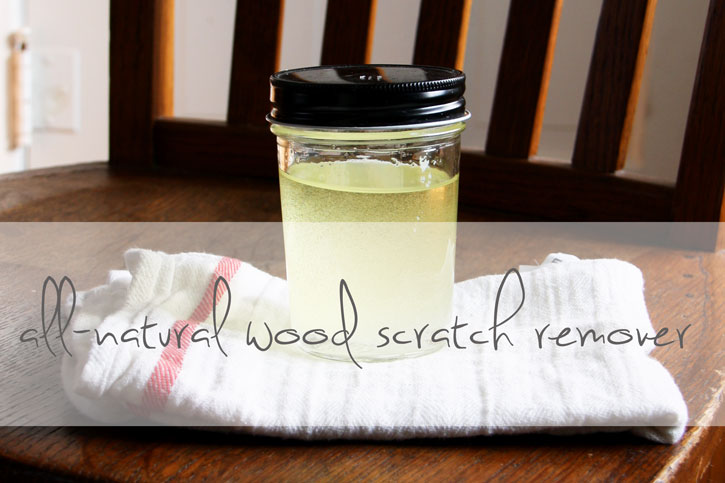 All-Natural Wood Scratch Remover | redleafstyle.com
