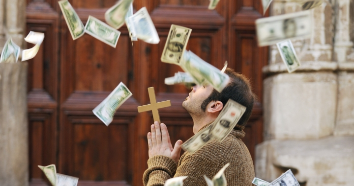 Image result for wealth and christianity