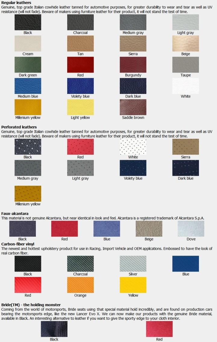 Nissan Altima Color Codes