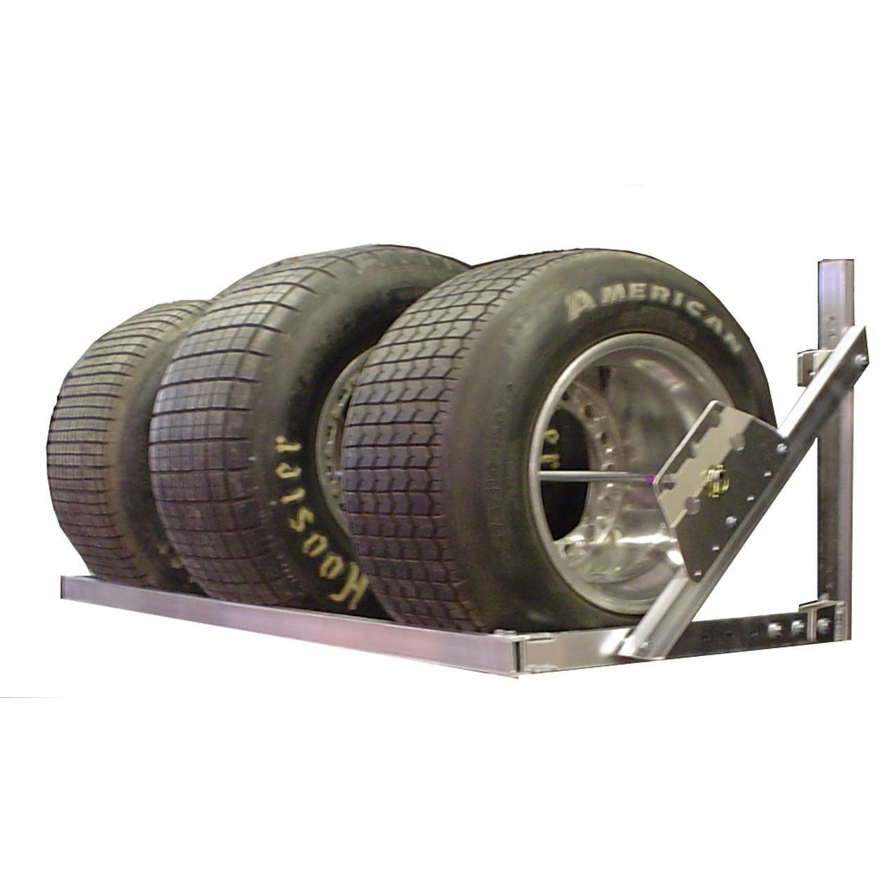 pit products 4 5 8 ft universal trailer tire rack