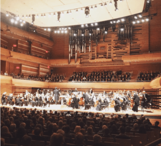 Concert de L'OSM avec Maestro Charles Dutoit au Festival Montréal en Lumière