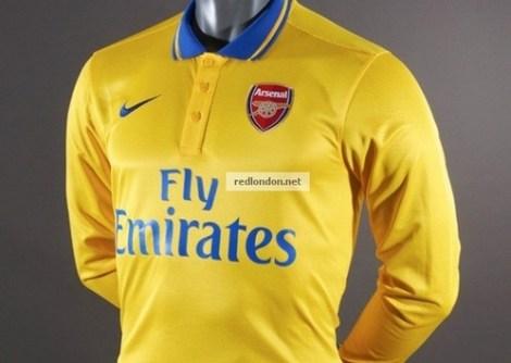 arsenal 201314 away kit