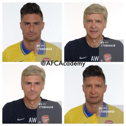 wenger and giroud switch