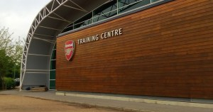 Pictures: Arsenal players back at London Colney as training resumes