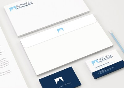 Brand Identity Design - Pinnacle