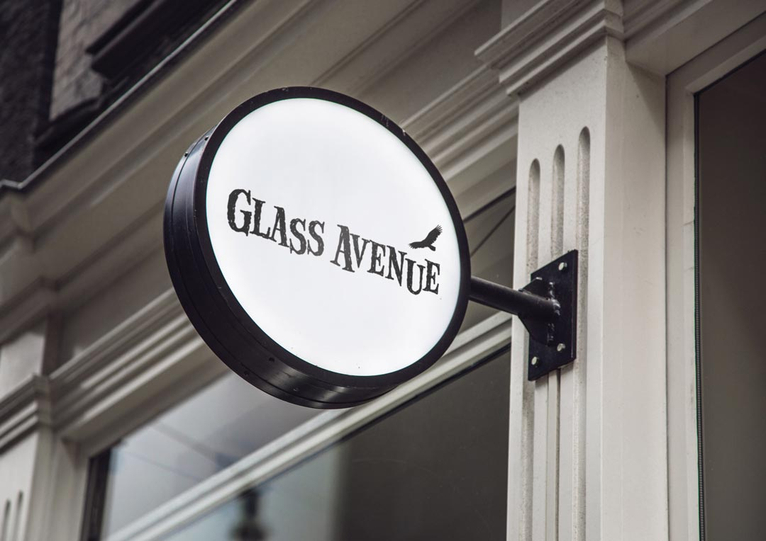 Brand Identity Design - Glass Avenue